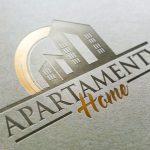 Projekt loga dla Apartamenty Home