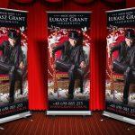 Projekt graficzny Roll-up dla Łukasz Grant - Iluzjonista