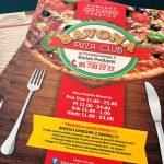 Projekt ulotki dla Savona Pizza Club