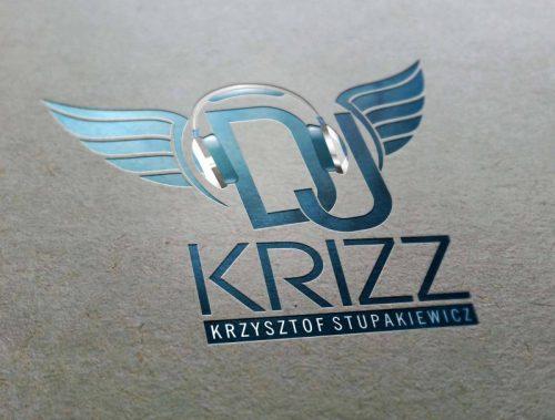 Projekt loga DJ Krizz