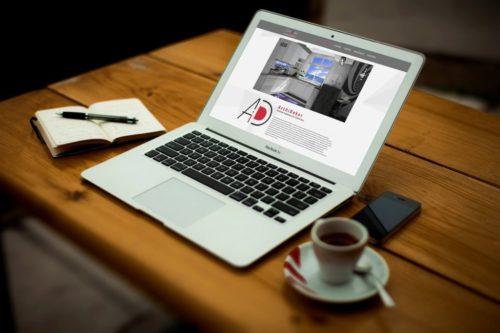 Realizacja strony internetowej ArchiDekor