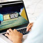 Strona internetowa AtakArena