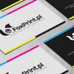 Projekt wizytówki dla Drukarni Internetowej FoxPrint