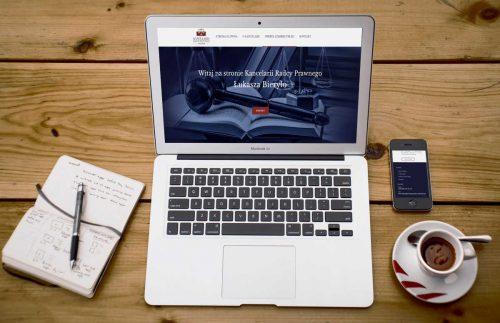 Strona internetowa dla Kancelarii Radcy Prawnego Bieryło Białystok
