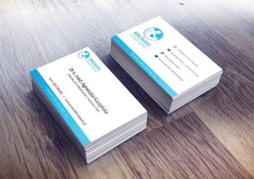 Projekt wizytówki Kriobank