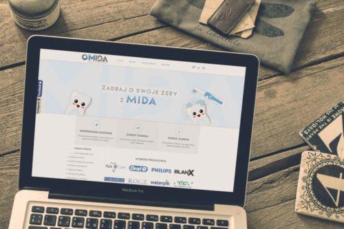 Realizacja sklepu internetowego MidaSklep.pl