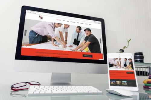 Strona internetowa dla Biura Projektowego AB KOMPLEX Paweł Korsak