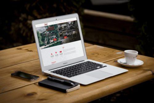 Realizacja strony internetowej dla firmy Tokart
