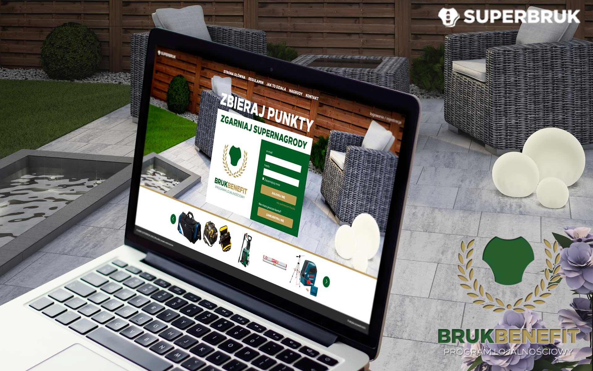 BrukBenefit Program lojalnościowy SuperBruk