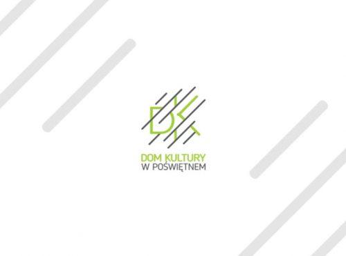 Projekt loga Domu Kultury w Poświętnym