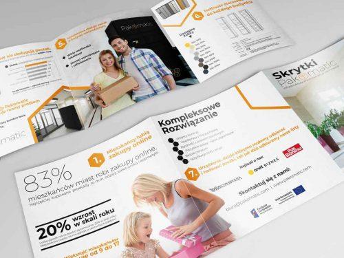 Projekt graficzny katalogu dla firmy Pakomatic