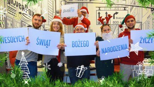 Wesołych Świąt Bożego Narodzenia Życzy SilverFox.pl