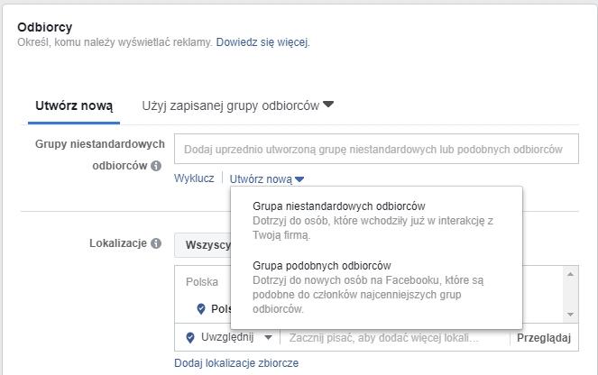 Kilka sposobów nautrzymanie odpowiedniej grupy odbiorców TwojejKampanii naFacebooku