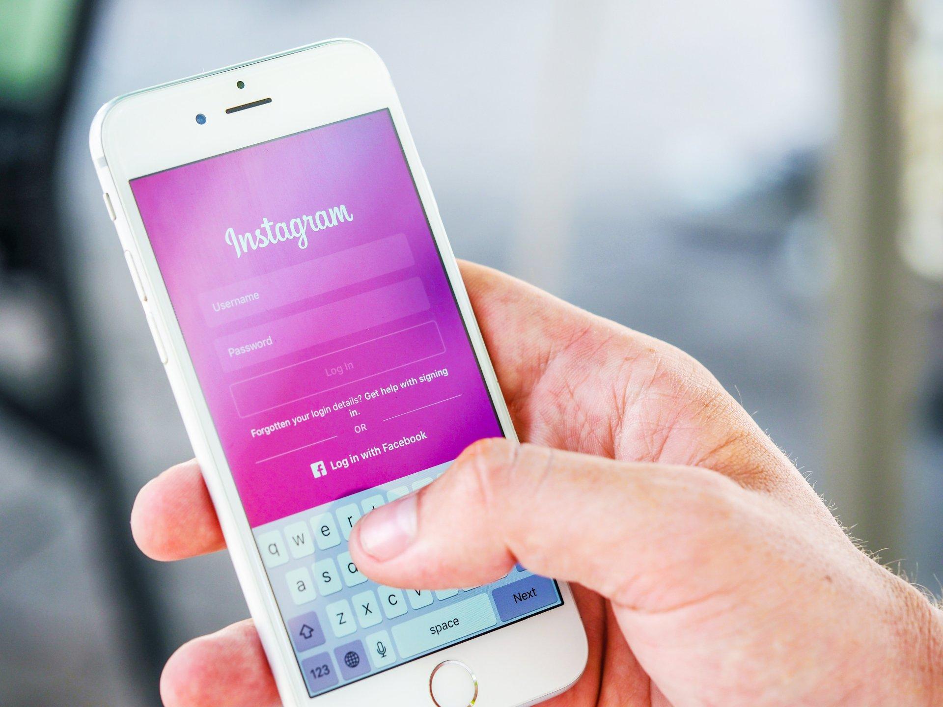 Jak połączyć Instagram zFacebookiem